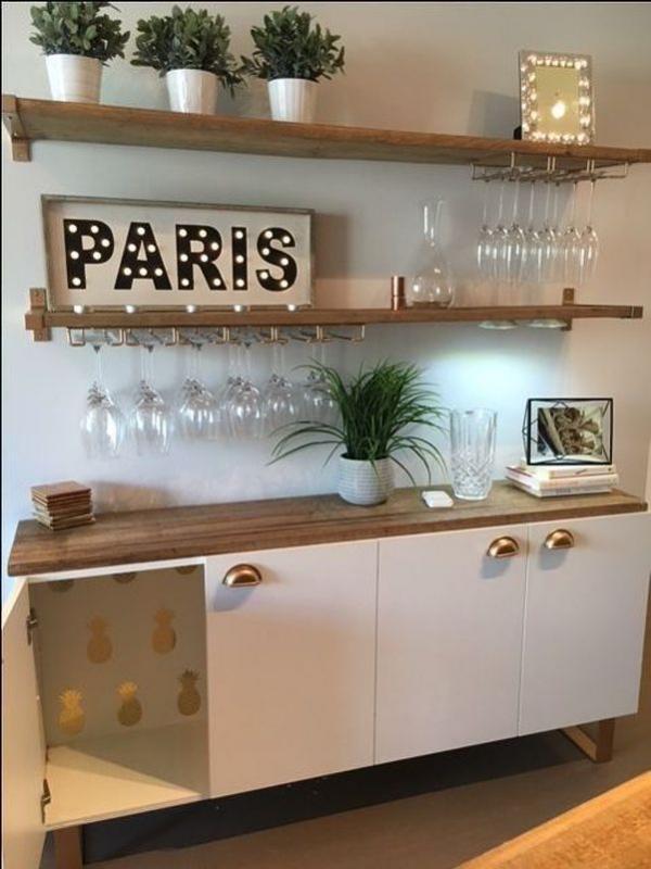 Ikea IVAR Slim Kitchen Bar Hack