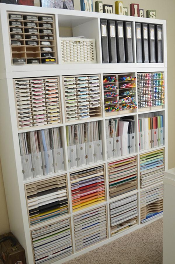 Ikea Kallax Craft Storage Hack