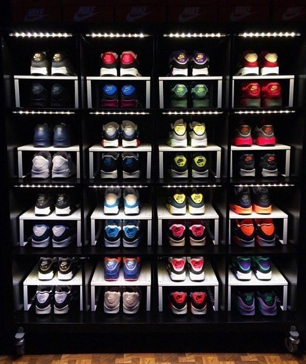 Ikea Kallax Shoe Organization Hack