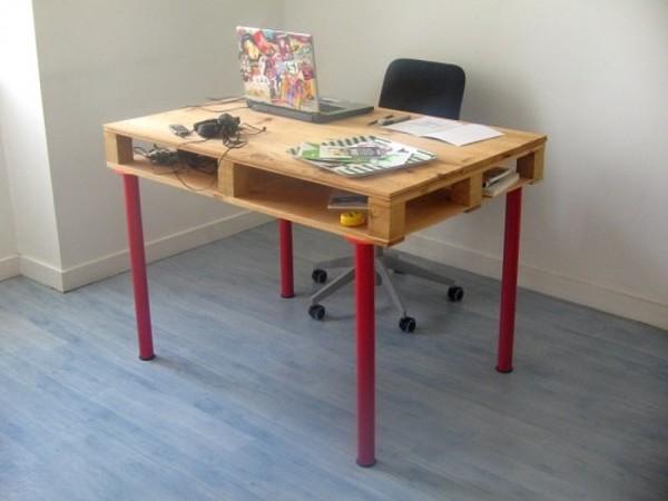Ikea Pallet Desk Hack