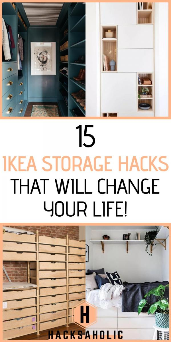 15 Ikea Storage Hacks That Will Change Your Life - Hacksaholic