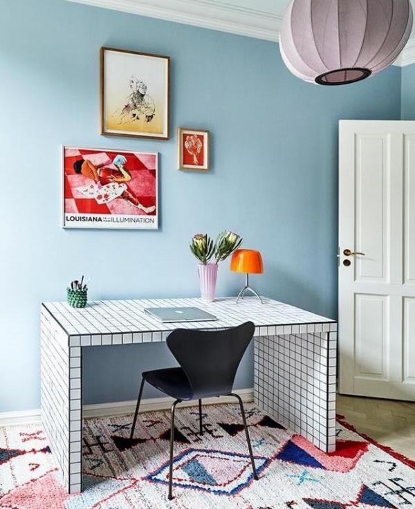 Ikea Tiled Desk Hack