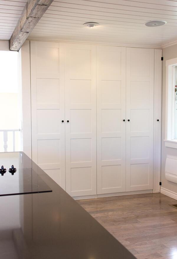 Ikea Pax Kitchen Pantry Hack