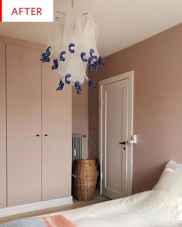 Ikea Pax Pink Wardrobe Hack