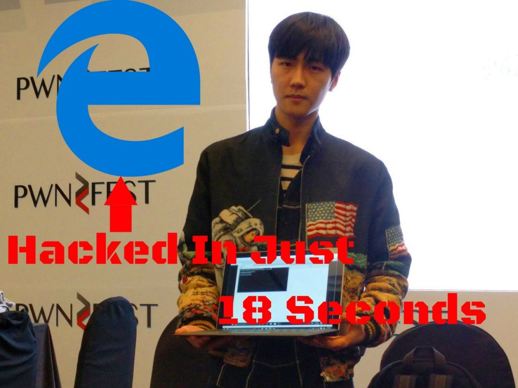 Edge Browser hacked