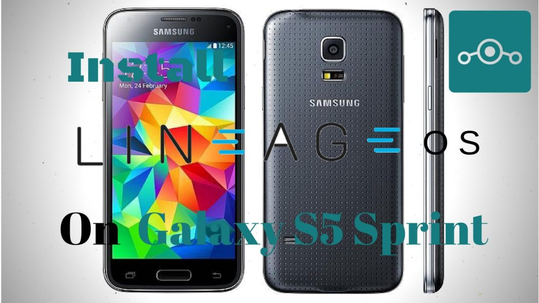 Lineage OS on Samsung Galaxy S5 Sprint