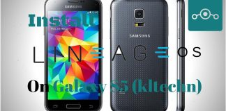 Lineage OS on Samsung Galaxy S5China