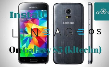 Lineage OS on Samsung Galaxy S5 China
