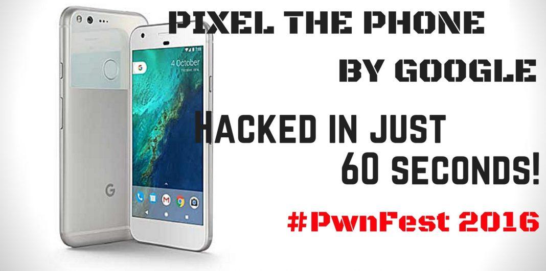 Google pixel hacked