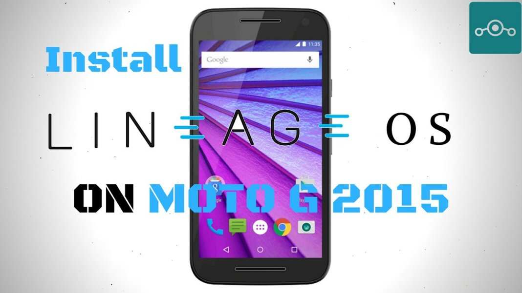 Install Lineage OS on Moto G 2015
