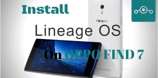 Lineage OS on Oppo Find 7