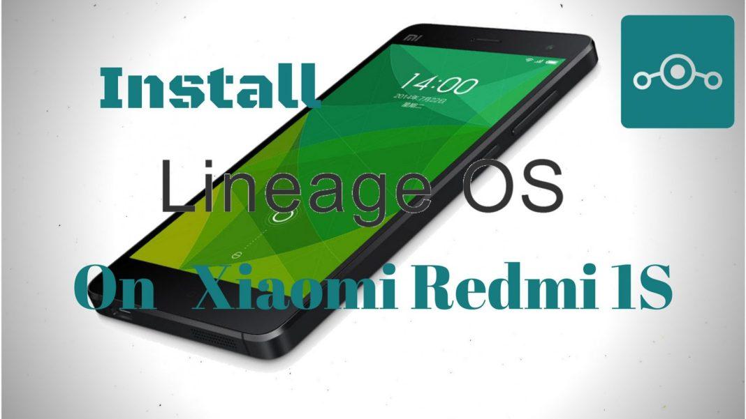 Install Lineage OS on Xiaomi Redmi 1S