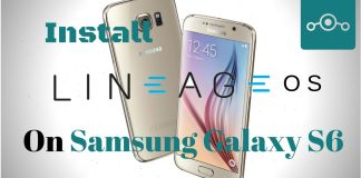 Lineage OS on Samsung Galaxy S6