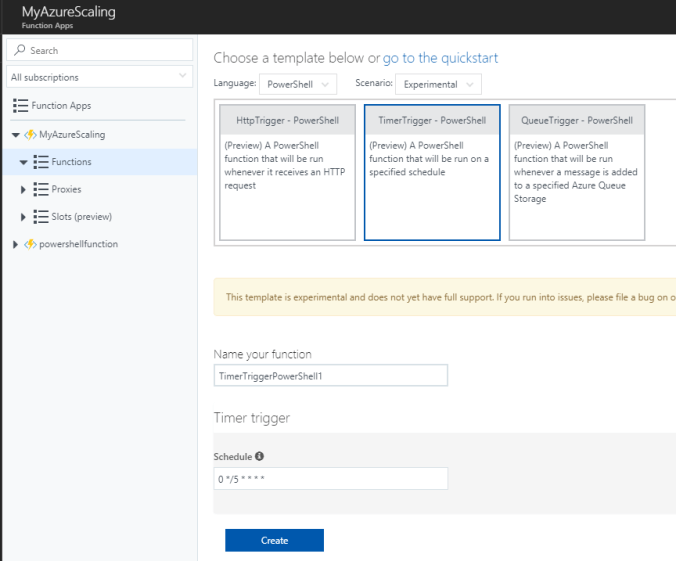 Schedule scaling of your azure resources hacks by me now i got a powershell script that will run on my schedule i added a few commands that will login to azure and scale down a web app and an sql database maxwellsz