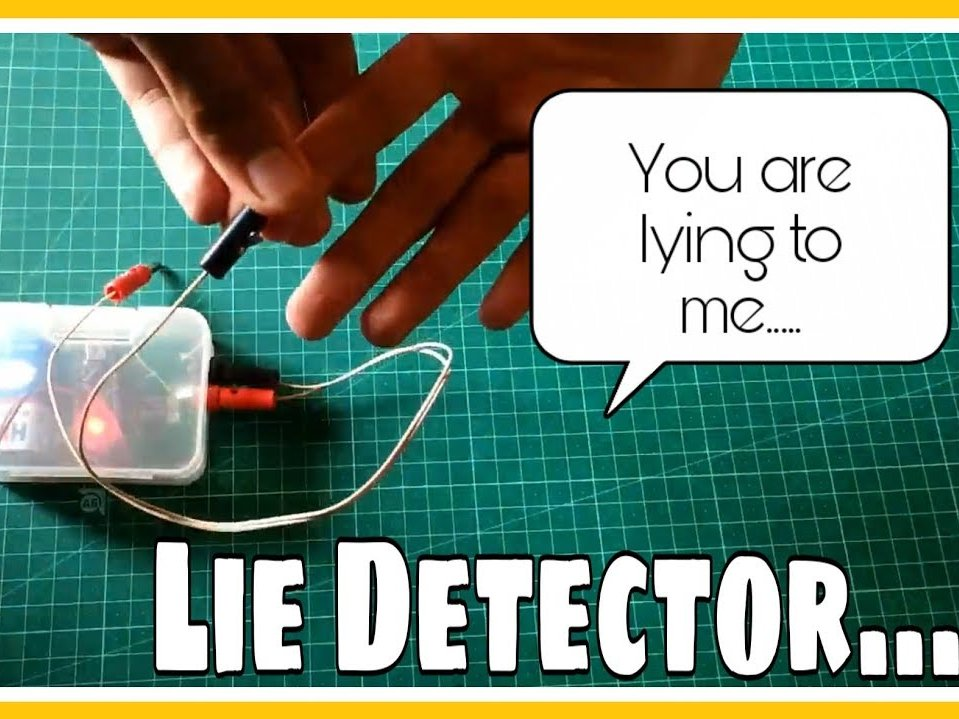 Lie Detector using Arduino