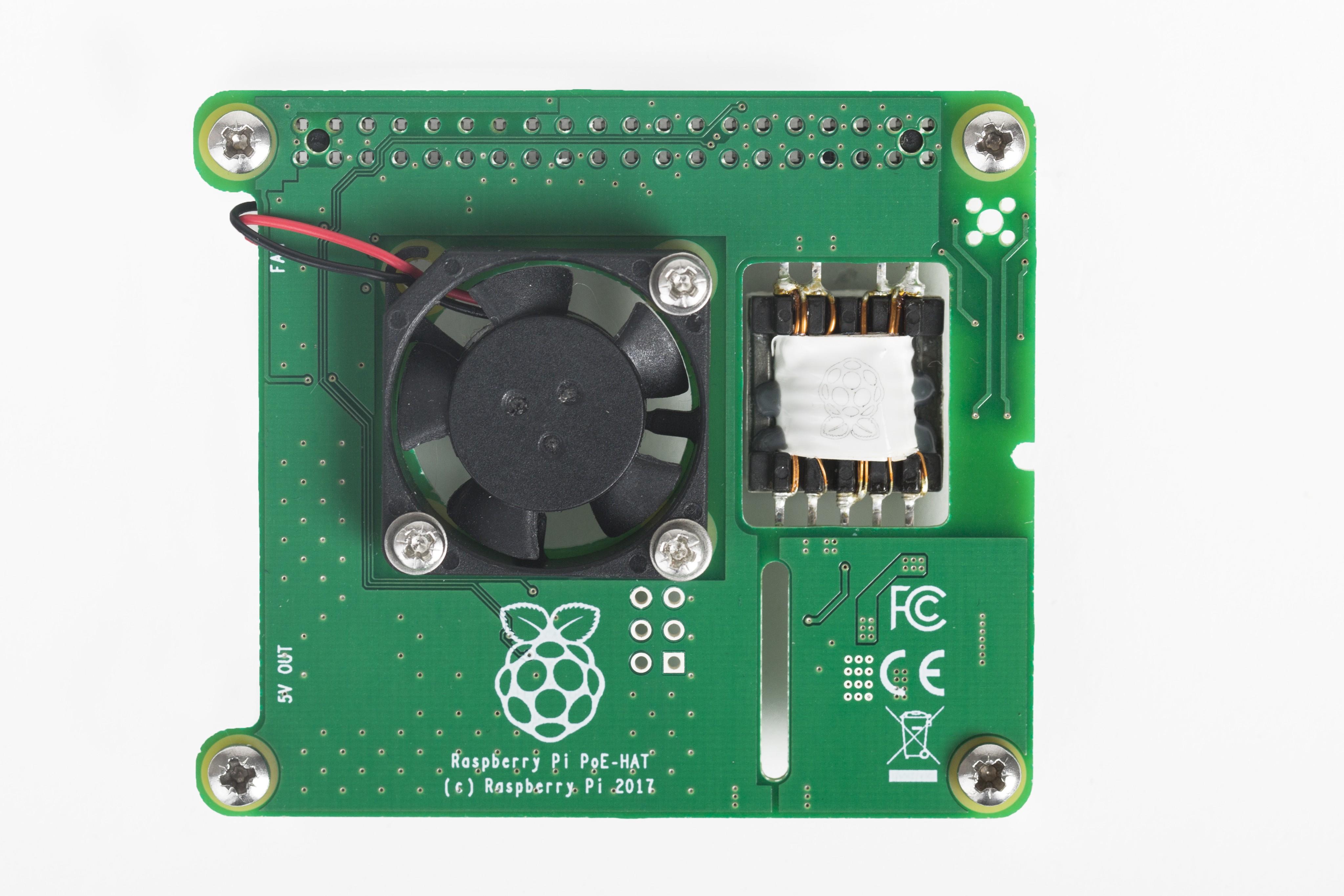 The New Raspberry Pi Poe Hat Hackster Io