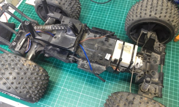 Joystick Controlled RC Car