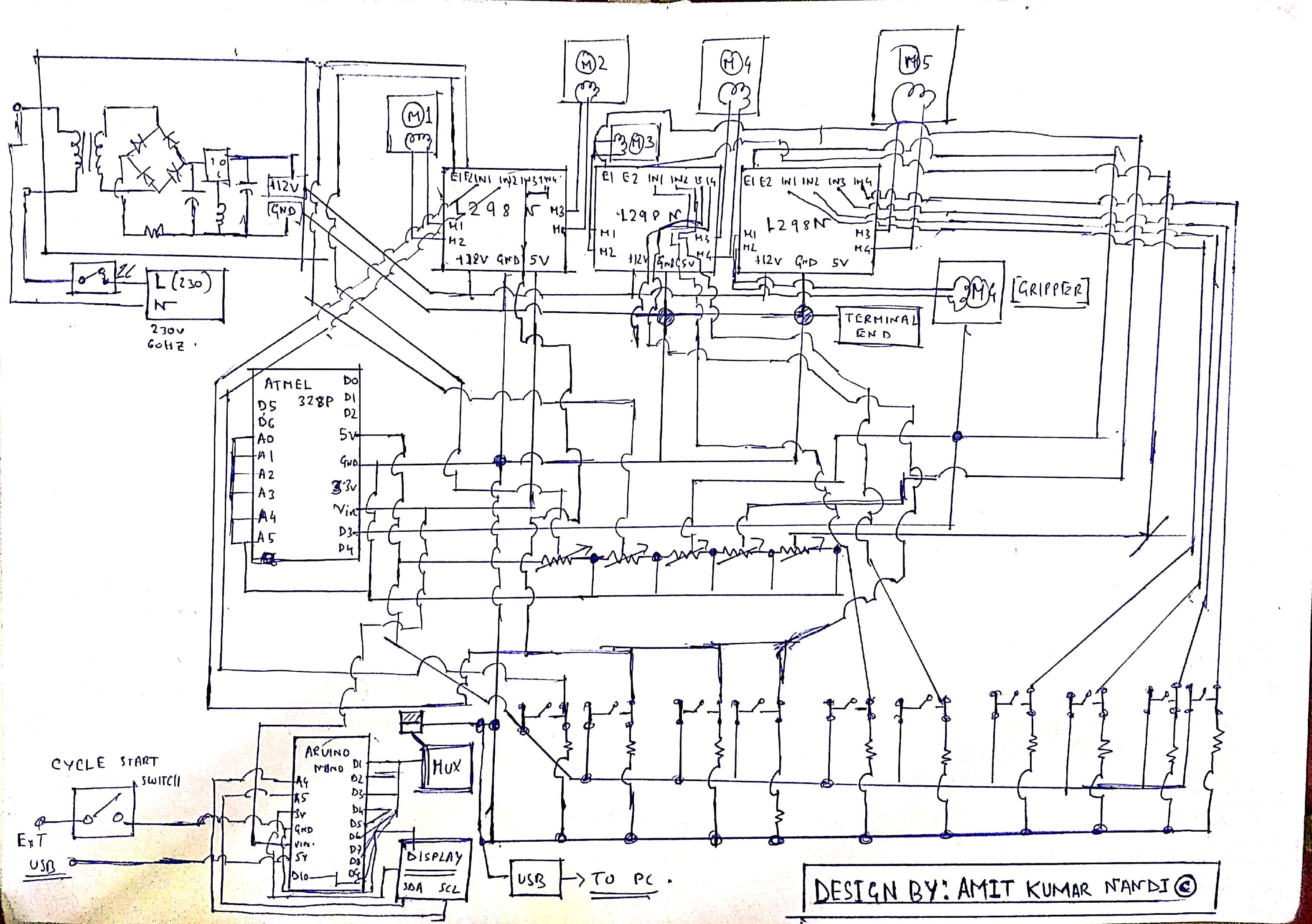 Scorbot Er V Controller Amp Simulator Design
