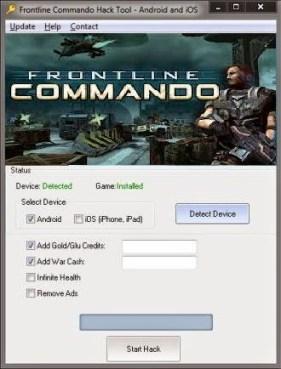 Frontline Commando Hack