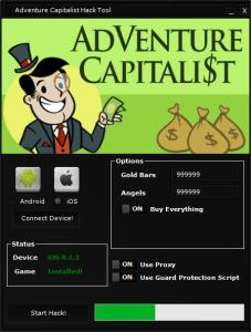Adventure Capitalist Hack Tool