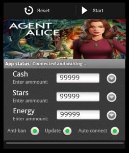 Agent Alice hacked apk