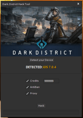 Dark District Hack Tool