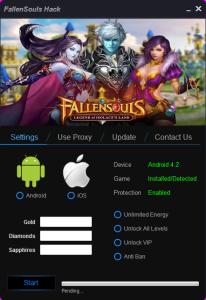 Fallen Souls Hack Tool