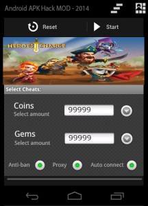 Heroes Charge apk hacked tool