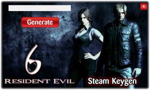 Resident Evil 6 Cd key generator