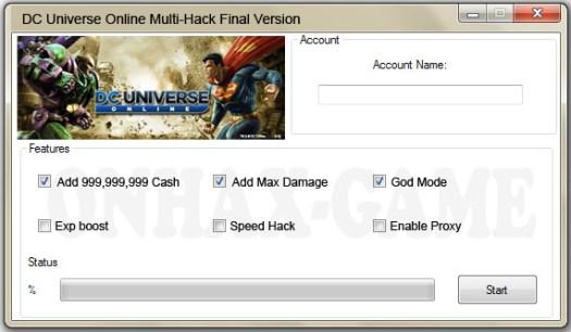 DC Universe Online Hack