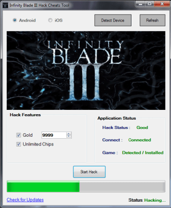 Infinity Blade 3 Hack Gold, Add Unlimited Chips