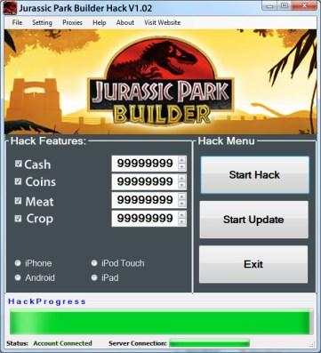 Jurassic Park Builder Hack Cash, Add Unlimited Coins2