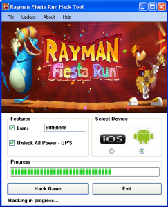 Rayman Fiesta Run Hack