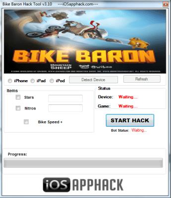 Bike Baron Hack add unlimited nitro and unlimited stars