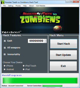 Rooster Teeth vs Zombiens Hack