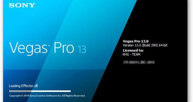 Sony Vegas Pro 13 Serial Number Crack & Keygen Free