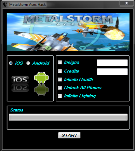MetalStorm Aces Hack Insigna Add Unlimited Credits Infinite Health