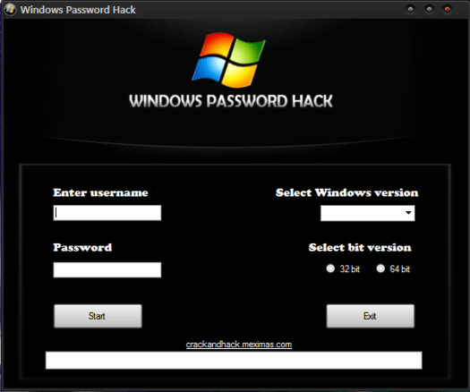 Windows Password Hack