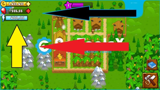 Bloons Monkey City Hack for City Cash & Bloonstones