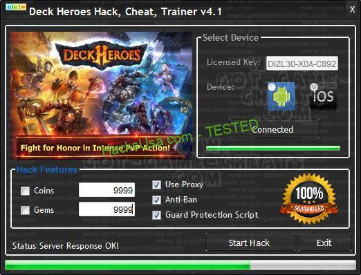Imagini pentru Deck Heroes Hack