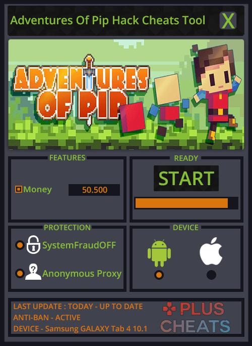 Adventures Of Pip hack