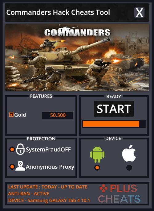 Commanders hack