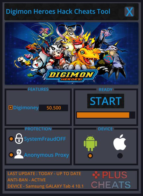 Digimon Heroes hack