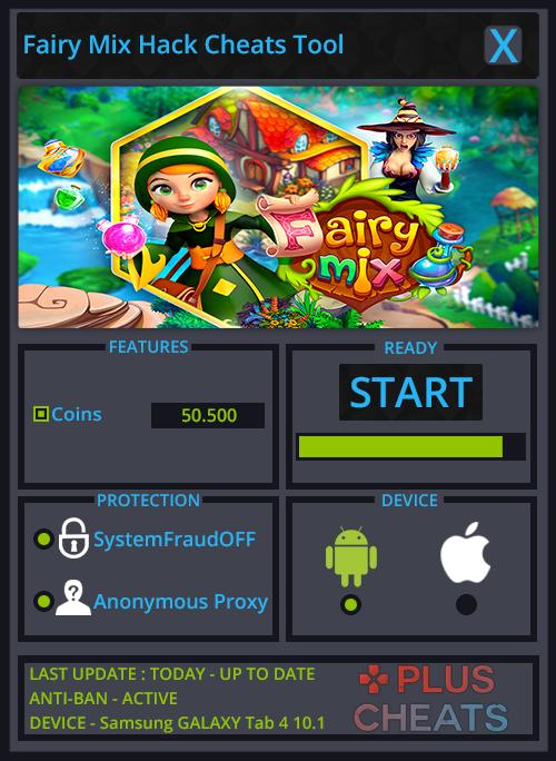 Fairy Mix hack