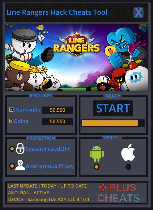 Line Rangers hack