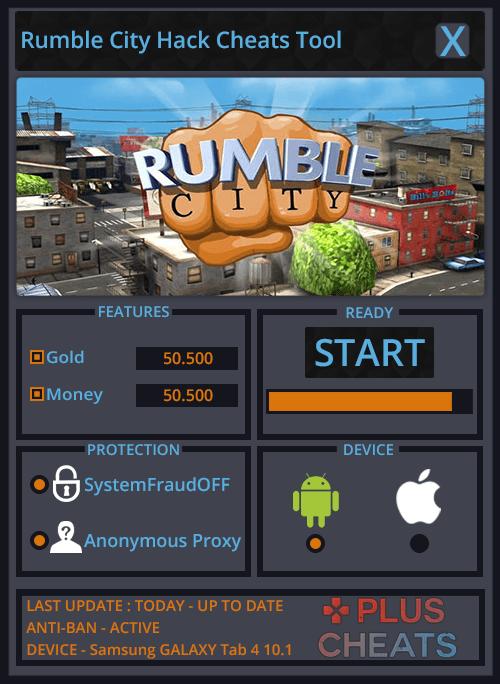 Rumble City hack