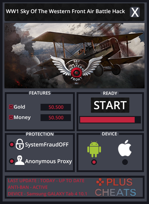 WW1 Sky Of The Western Front Air Battle hack
