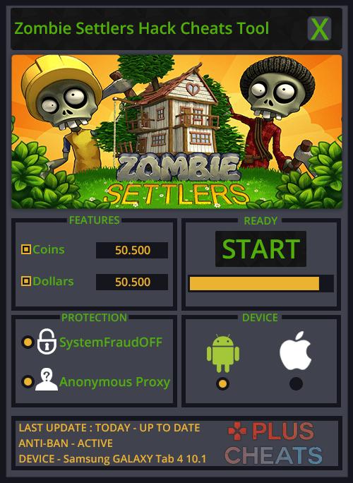Zombie Settlers hack