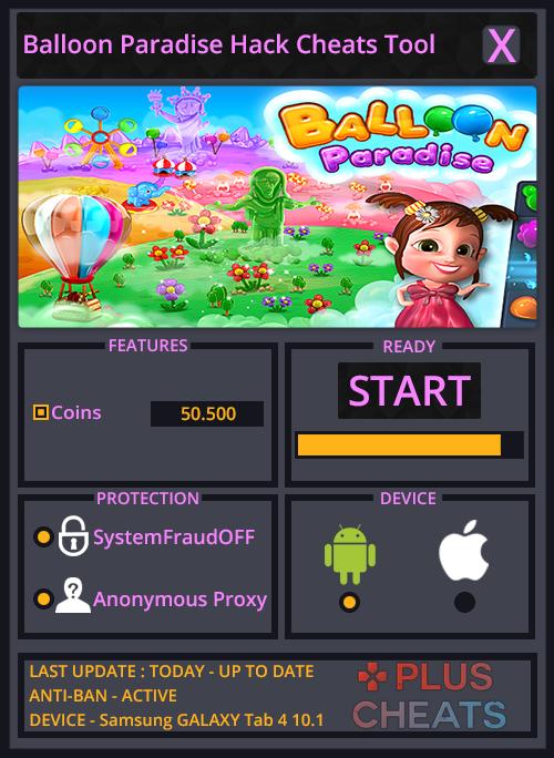 balloon paradise hack