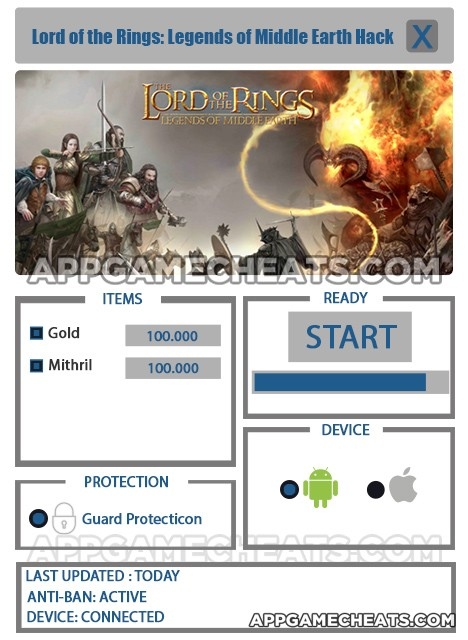 lord-of-the-rings-legends-of-middle-earth-cheats-hack-gold-mithril